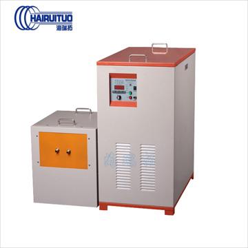 中频感应加热设备 HTM-110KW中频熔炼炉 金属材料冶炼熔化铸造机