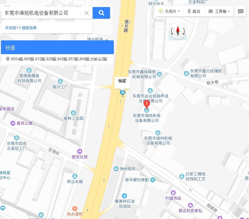 海拓公司地图
