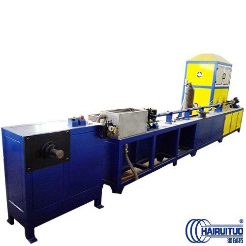 中频电热连续退火炉结构与作用,管道热处理工艺