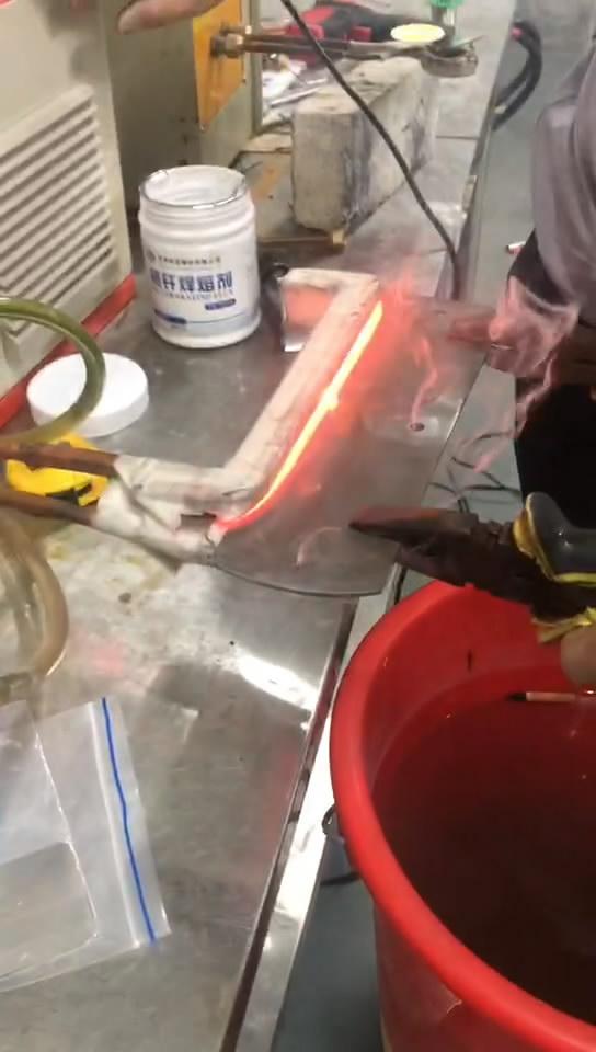 超高频淬火设备 刀口淬火接视