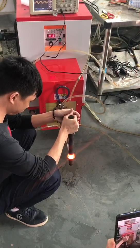 超高频加热机40KW 铁棒加热淬火