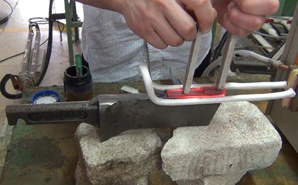 超音频感应加热设备焊接
