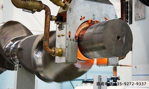 中频淬火设备对大型45钢锻轴的热处理工艺改进