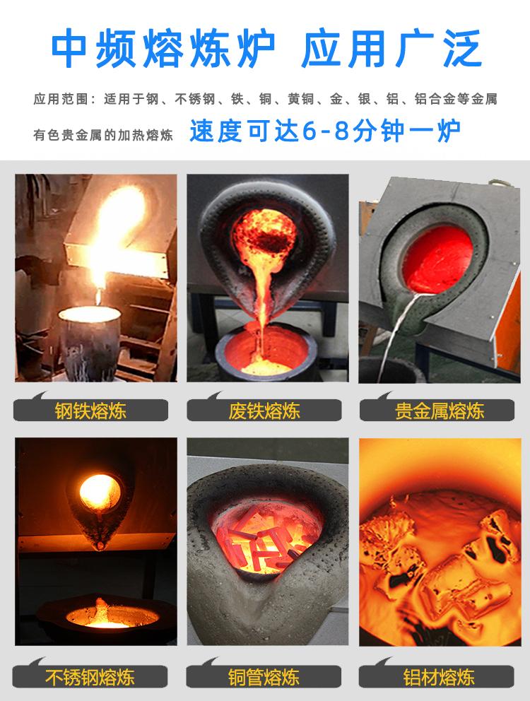 中频熔炼炉 升降式
