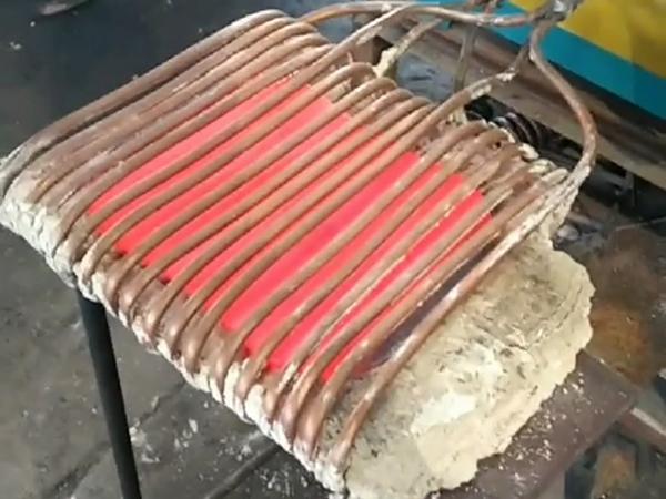横向磁场感应加热回火带材退火处理时的工艺问