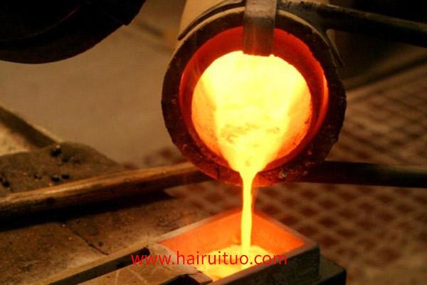 中频熔炼炉在熔炼中过程的重要参数