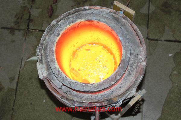 广东中频熔铜熔炼炉变化