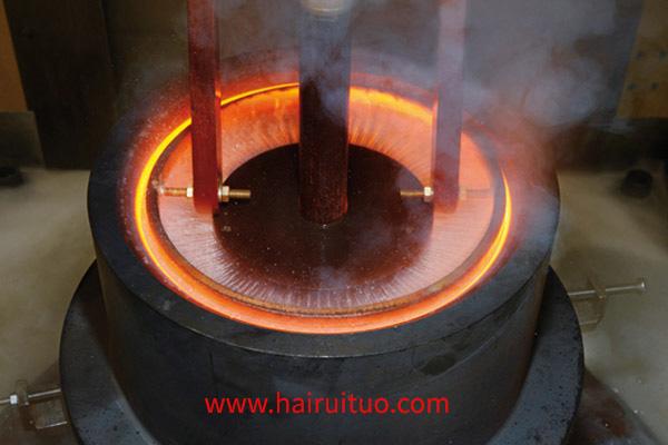 齿轮中频淬火机床试验