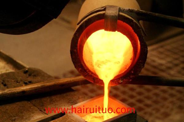 感应中频熔炼炉温度