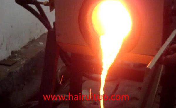 深圳中频熔炼炉安装