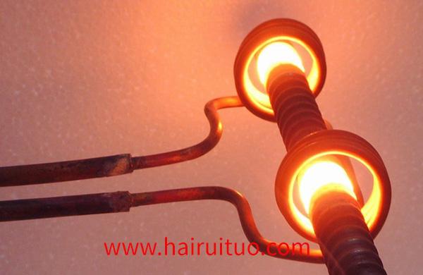 棒料感应加热设备过程