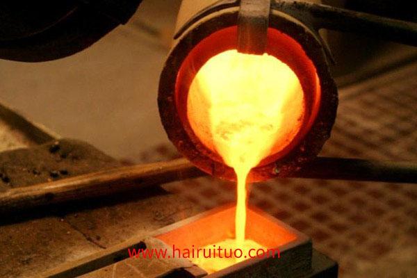 中频感应炉熔炼