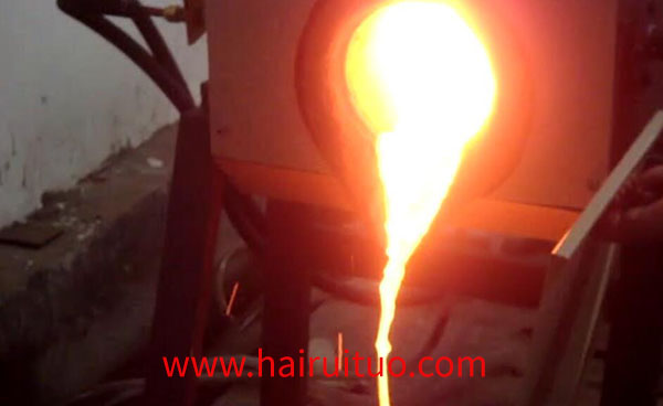 中频铜熔炼炉打样