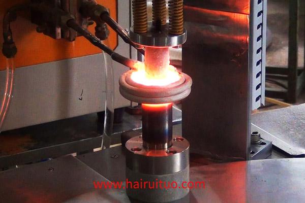 高频钎焊机钎焊过程