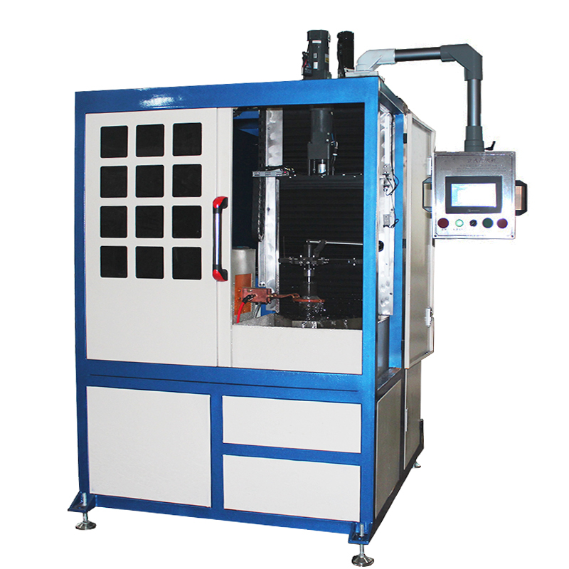 Customized induction high frequency induction hardening machine for non-standard work-piece.