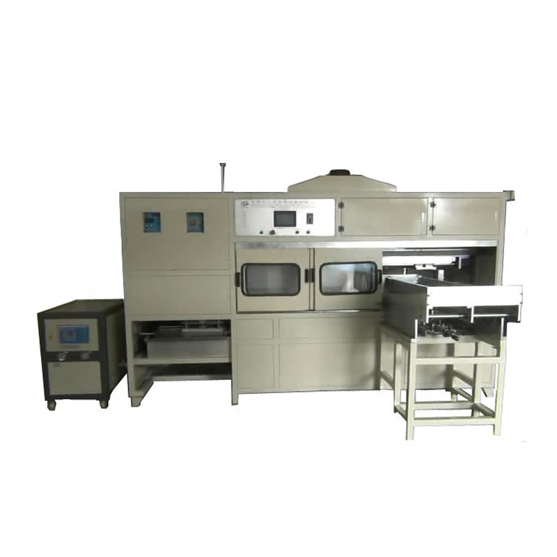 Vertical induction hardening device for gear, customized high frequency hardening machine, CNC induction hardening machine