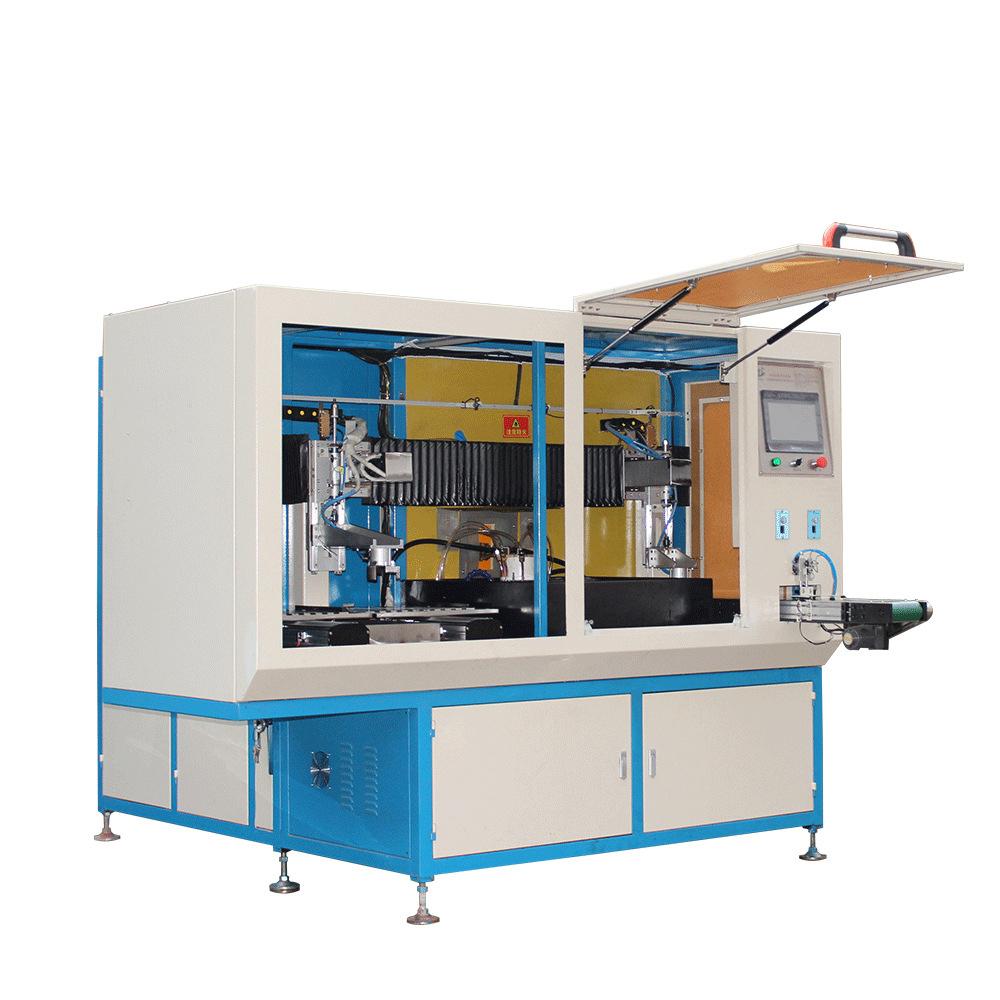 vertical CNC hardening equipment for steel shaft, hardening gear,