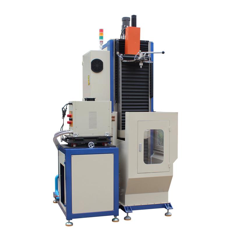 Customized CNC vertical quenching machine, shaft/gear quenching equipment