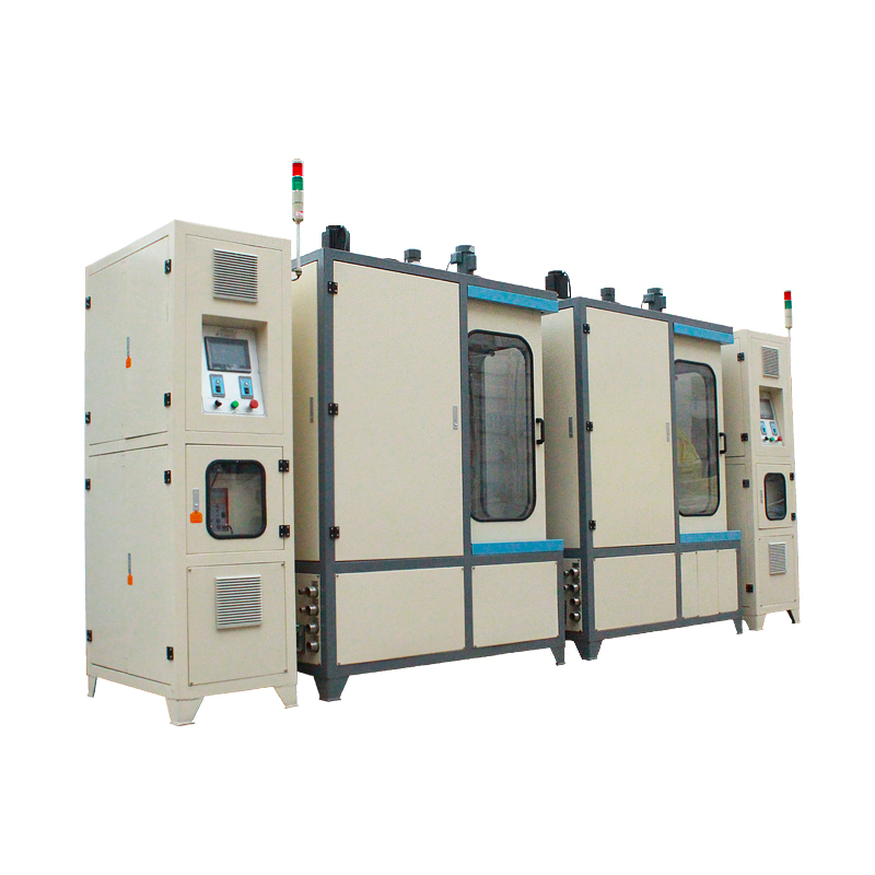 Double frequency vertical quenching machine,hardening machine, steel bar hardening