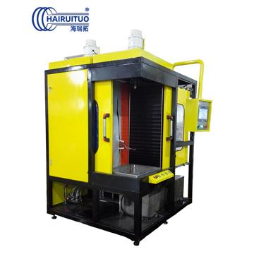 涡轮轴数控淬火机床|高频感应淬火设备