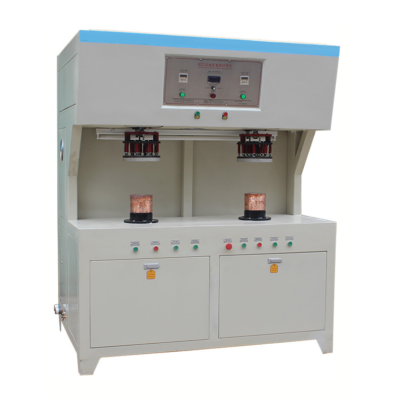 2-station high frequency automatic induction welding machine for copper joint
