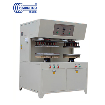 High Power Hydraulic two-station high frequency brazing machine