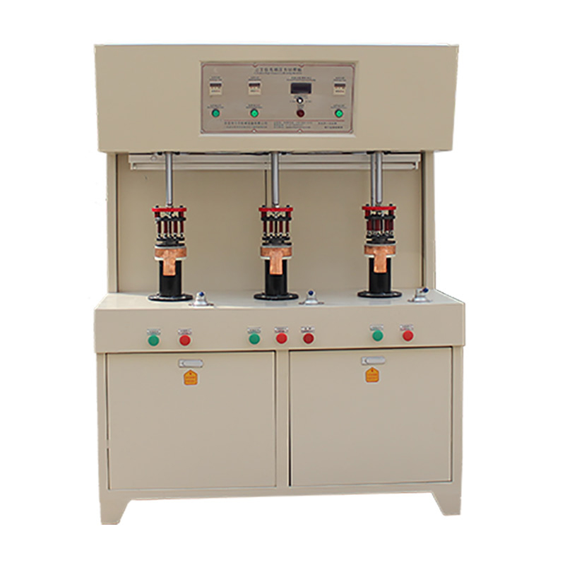 3-station induction brazing equipment for tea-maker
