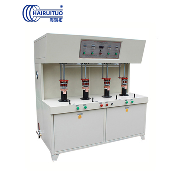 4-station induction brazing machine for tea-maker