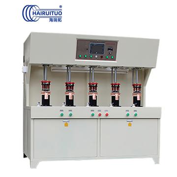 发热盘五工位高频钎焊机|电热水壶高频焊机