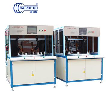 旋转式六工位高频钎焊机|六工位铜管钎焊机