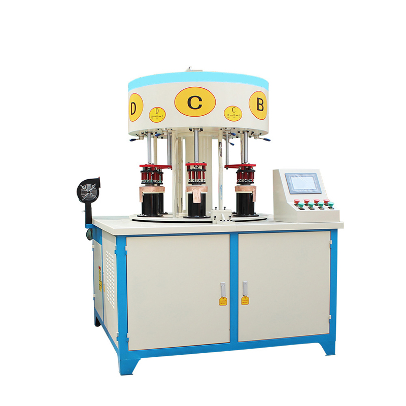 6-station Coffee-maker induction bonding machine