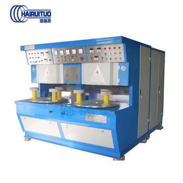 三工位复底钎焊机 适用于铜锅铝锅的复底钎焊机可订制