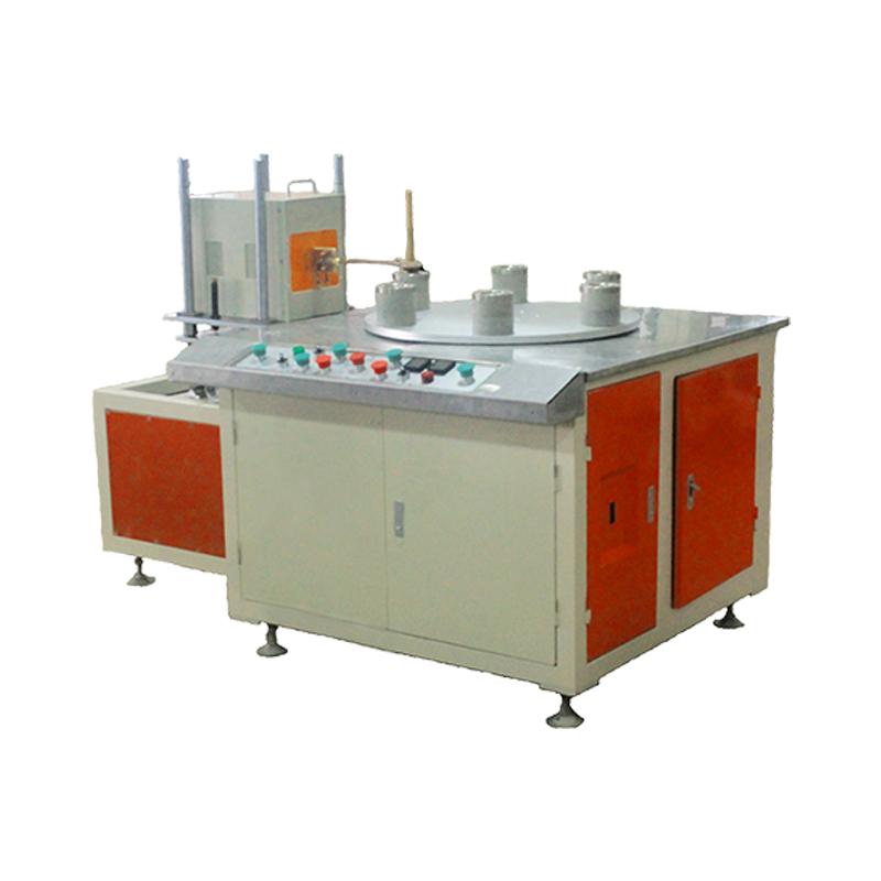 4-station induction bonding equipment for stainless steel kettle,copper kettle, aluminum kettle
